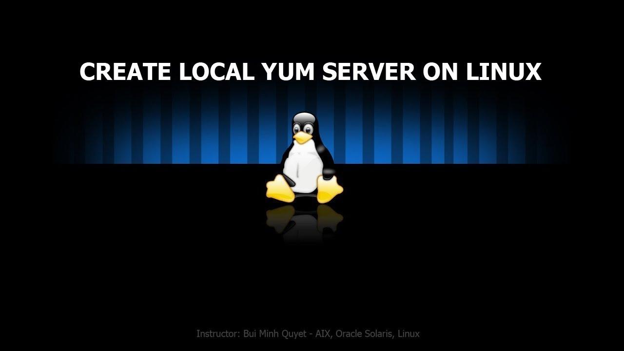 YUM Create local Repo on CentOS6 9