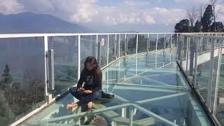Glass Bridge, Sky Walk at Pelling, Sikkim