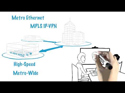 Network Service Provider: Metro Ethernet, IP-VPN