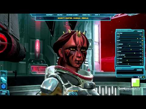Star Wars The Old Republic - All Sith Empire Classes & Races