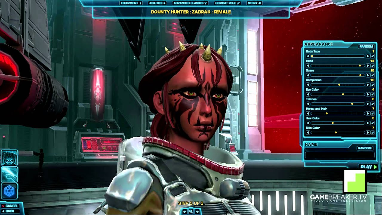 star wars the old republic all sith empire classes races youtube
