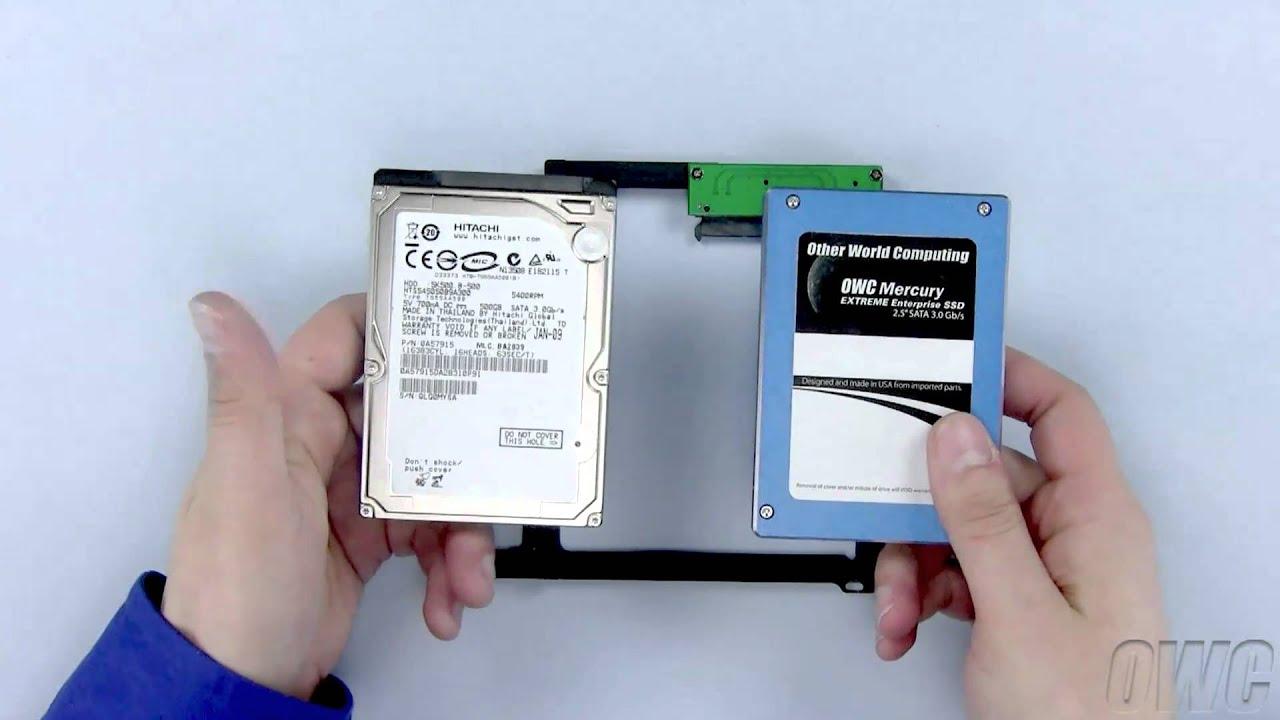 13 inch macbook pro mid 2010 data doubler 2nd hard drive ssd