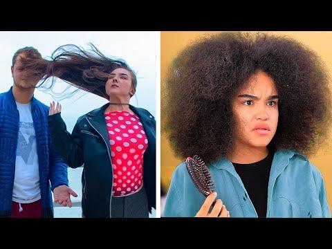langes-haar-vs-lockige-haar:-probleme-/-coole-haar-life-hacks