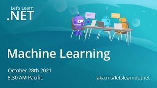 Let's Learn .NET - Machine Learning