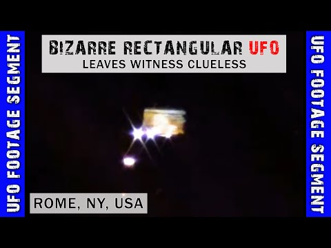 UFO SIGHTING VIDEO • Can You Identify This? • Rome NY USA