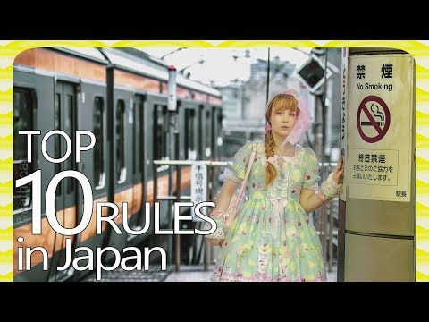 TOP 10 Japan Laws And Rules You NEED To Know