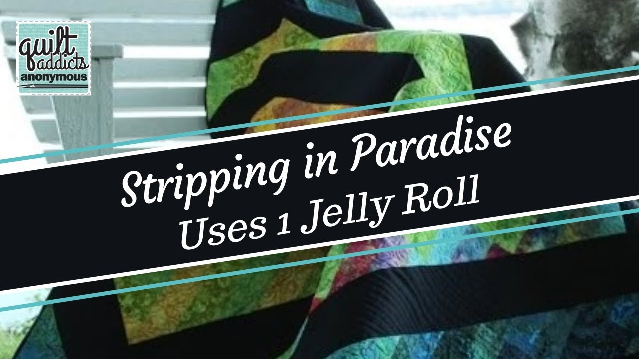 Stripping in Paradise - PDF Pattern Download