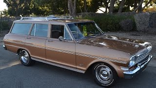 SOLD 1963 Chevrolet Nova Station Wagon for sale by Corvette Mike