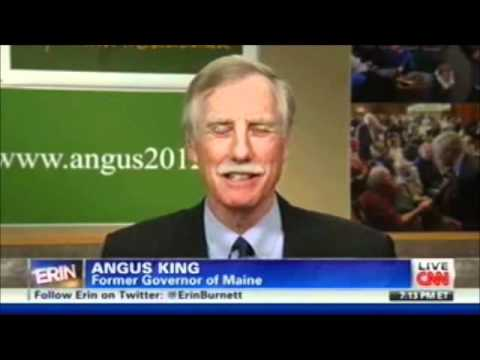 Angus King - CNN - April 6, 2012