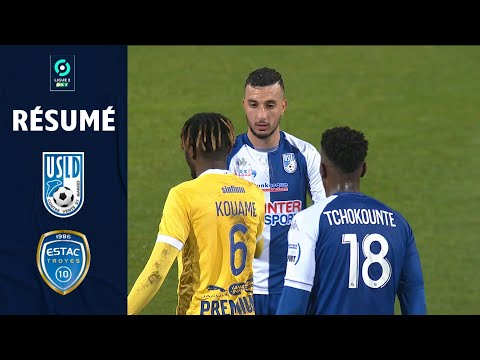 Dunkerque Troyes Goals And Highlights