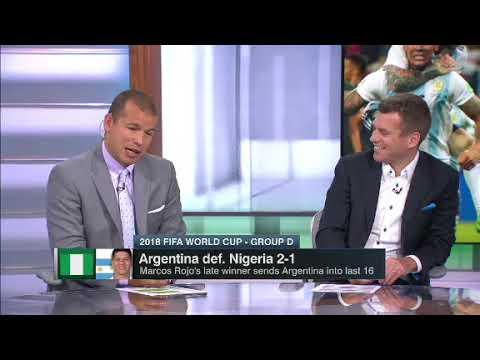 Argentina vs Nigeria 2 1 Post Game Discussion ESPN FC Fifa Worldcup 2018