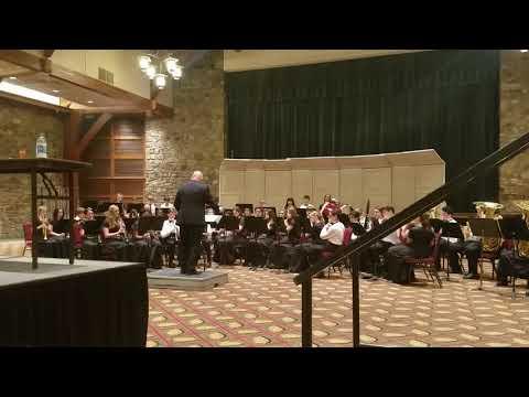 Hampton Cove Middle School Concert Band Gatlinburg 2019 performance
