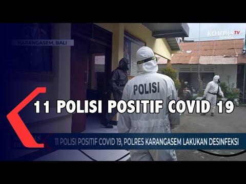 11 Polisi Positif Covid 19