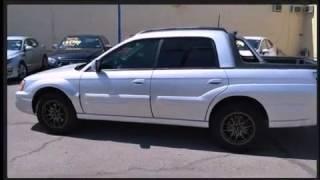 2006 Subaru Baja Turbo Auto W/Leather PKG