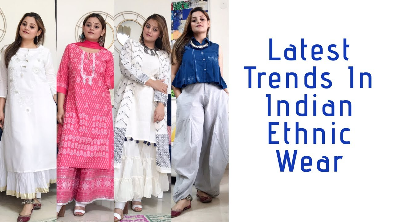 Download LATEST TRENDS IN INDIAN ETHNIC WEAR | EDGY INDIAN FASHION | #ethnicwear #indianfashion