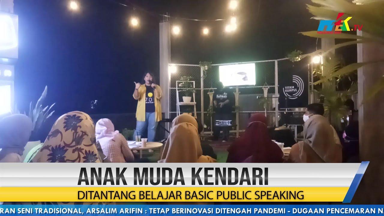 Anak Muda Kendari Ditantang Belajar Basic Public Speaking