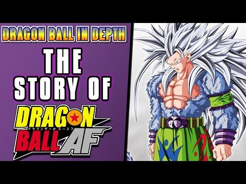 The Story of Dragon Ball AF