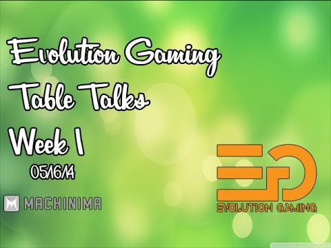 Friday Evening Talks with Evolution Gaming Take 1