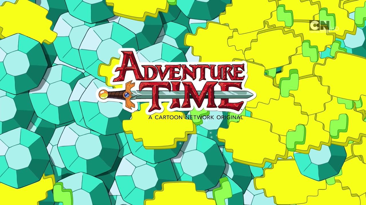 Cn Rsee Promo Adventure Time X Minecraft Diamonds And Lemons