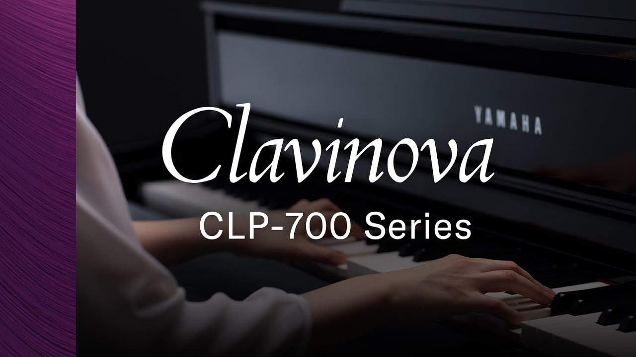 Yamaha Clavinova CLP-700 Series Digital Piano Overview