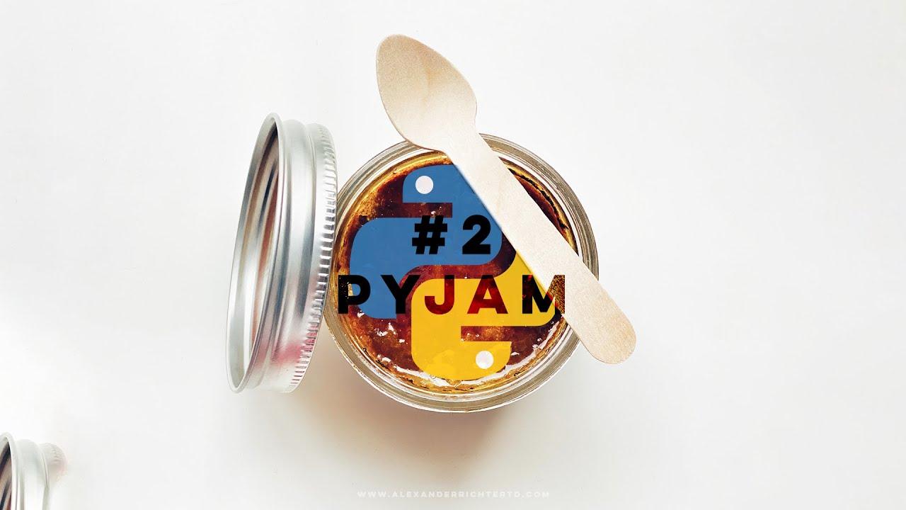 2nd PyJam starts NOW (#Python #VFX #Animation)