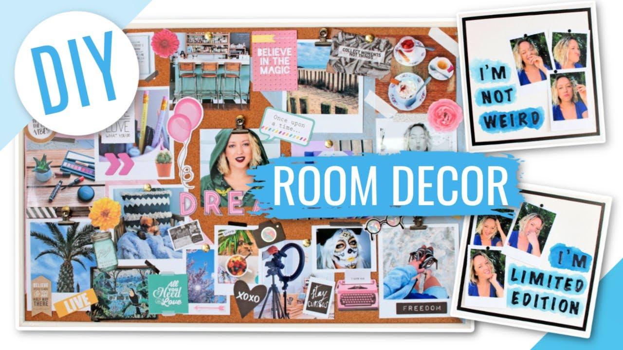 Diy vision board d corer sa chambre avec des photos - Des astuces pour decorer ma chambre ...