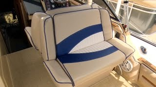 How to Reupholster a Back-to-Back Boat Lounge Seat