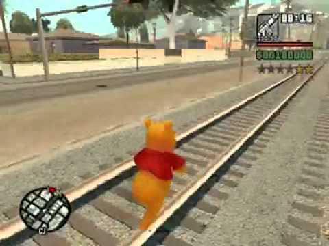 Winnie Pooh GTA SA