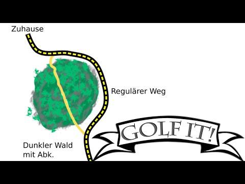 Die Abkürzung ist eine LÜGE 🎮 Golf it! #47