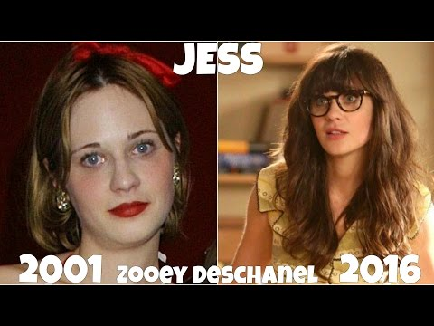 New Girl TV  Actors, Before and After They Were Famous