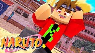 Minecraft : O INICIO DO EXAME CHUNNIN !! - Naruto Online #2 ‹ KevynZ ›