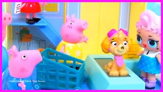 PEPPA PIG GROCERY STORE COMPILATION MOVIE | Video for Toddler Kids Entertainment  | itsplaytime612