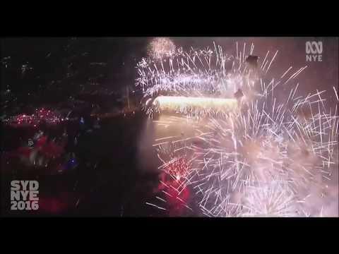 Sydney NYE 2016 - 17 Drone Fireworks Footage (Original Soundtrack)