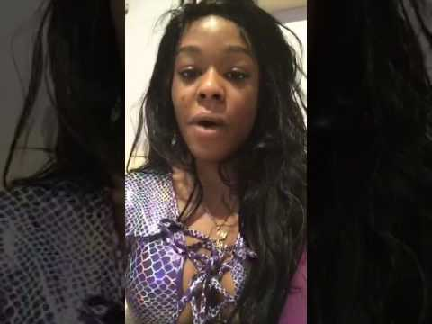 Azealia Banks - Periscope Livestream (At Home) - 13.5.2017