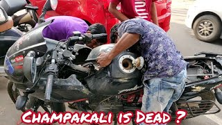 What exactly Happened to my Pulsar 220f(Champakali) | She is Back !