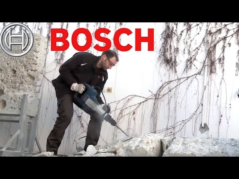 Bosch Demolition Hammer with SDS-max - GSH 11 VC Professional Jack Hammer