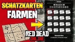 Red Dead Redemption 2 Online: UNENDLICH Schatzkarten Farmen  - Einfachster Weg für Gold Barren