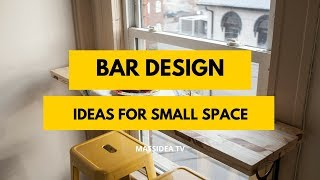 100+ Amazing Small Space Bar Design Ideas For Your House