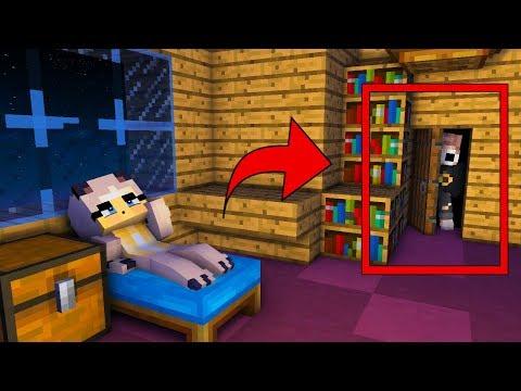 DER FREMDE IN MEINEM SCHLAFZIMMER ✿ Minecraft [Deutsch/HD]