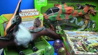 Колекція динозаврів - Світ Юрського періоду динозавр іграшки - Діно Долина&Діно яйця