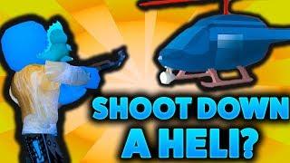 HOW TO SHOOT DOWN HELI'S!? (ROBLOX JAILBREAK NEW UPDATE!)