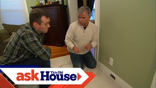 How to Patch a Hole in Wood Trim | Ask This Old House