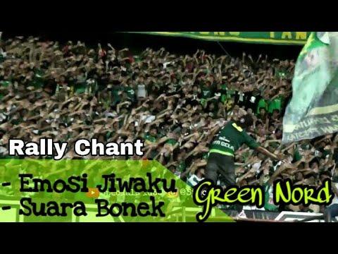 RASA EROPA..!! Makin Berkelas BONEK Green Nord 2x45 Menit Bernyanyi | Persebaya Vs PSM Makassar