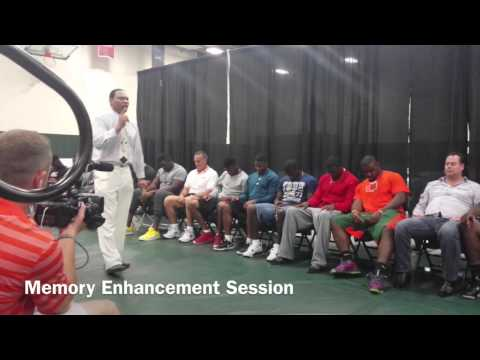 UM Football Team Hypnotized by Lenny Moore Pt 3 of