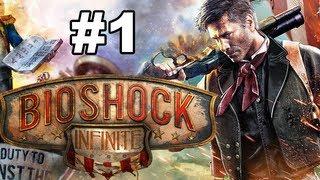 BioShock Infinite Gameplay Walkthrough - Intro - Episode 1 (PC/Xbox360/PS3)