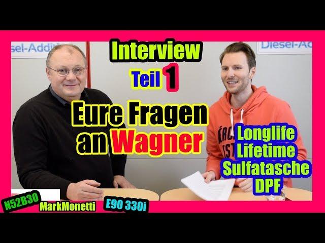 Eure Fragen Teil 1 | Lifetime | Longlife | Öl Alter | DPF + Sulfatasche | MarkMonetti