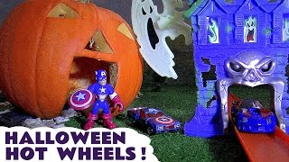 Гаряча Хеллоуїн привид ігровий набір коліс з Месники іграшки автомобілі & Томас і друзі сюрприз яйця TT4u