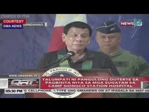 Duterte to MILF, MNLF: No more peace talks if you protect terrorists