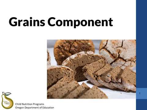 40 CACFP Meal Pattern Training Child Adult Meal Pattern Grains New Cacfp Meal Pattern