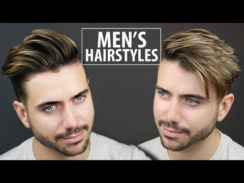 2 Quick and Easy Hairstyles for Men | Men\'s Hairstyle ...